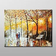 Ručně malované Krajina Jeden panel Plátno Hang-malované olejomalba For Home dekorace