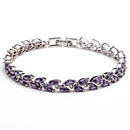 Child's / Couples' / Women's Charm / Chain / Tennis Bracelet Cubic Zirconia / Alloy Cubic Zirconia