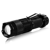 Lights LED Flashlights/Torch / Handheld Flashlights/Torch LED 240 Lumens 3 Mode Cree XR-E Q5 14500 / AAAdjustable Focus / Rechargeable /