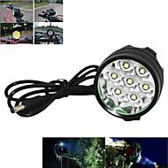 Lanternas de Cabeça Luzes de Bicicleta Luz Frontal para Bicicleta LED Cree XM-L T6 Ciclismo Recarregável Controle de Ângulo 18650.0 7000