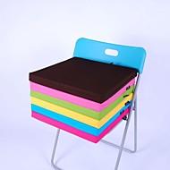 LILY® simple tissu lavable éponge carrée coton de coussin 4 cm d'épaisseur 40 * 40cm coussin de chaise bonbons vert hmd-4-28