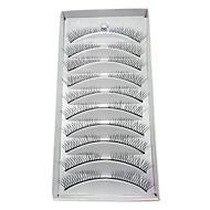 10 Eyelashes lash Eyelash Volumized Fiber