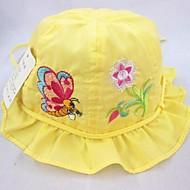 dívčí módní krásný motýl květ složit složit boční klobouk