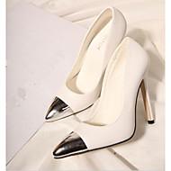 Magnifiques chaussures de mariée talons aiguille et bout argenté