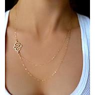 Women's Simple Double Necklace