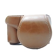 dengpin® védő levehető bőrből készült tok vállpánttal sony alpha A6000 ilce-6000l