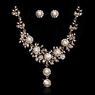 Women's Alloy Jewelry Set Cubic Zirconia