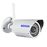 sinocam® 무선 WiFi 방수 IP 카메라 (1.0 메가 픽셀, P2P, IR 컷, 지원 ONVIF), P2P