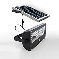 PIR snímač pohybu Solar Light / Solární LED nástěnné světlo / Venkovní světla (NED-44464)