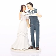"Cake Toppers ""We Did""  Cake Topper"