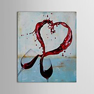 IARTS®Hand Painted Oil Painting Still Life Wine of Love with Stretched Frame