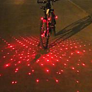 Luzes de Bicicleta / Luz Frontal para Bicicleta / Luz Traseira Para Bicicleta / luzes de fim de bar LED / Laser Ciclismoalarme /