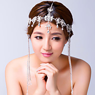 Women's Alloy / Cubic Zirconia Headpiece-Wedding / Special Occasion Head Chain