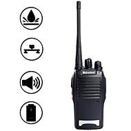 baiston BST-688 5W 16-kanals 400.00-470.00mhz walkie talkie - sort
