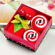Weihnachtsgeschenk Mikrofaser bunte Kuchen Handtuch-Set