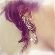 Earring Drop Earrings Jewelry Party / Casual Alloy / Cubic Zirconia Gold / Silver