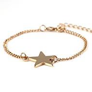 Star-Shaped Alloy Bracelet Gold(1Pc)