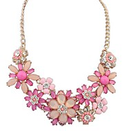 European Style Exaggeration Rich Flowers Wild Fashion Necklace(More Colors)
