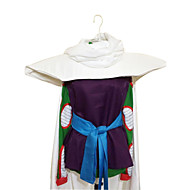 Inspired by Dragon Ball Piccolo Anime Cosplay Costumes Cosplay Suits Patchwork Purple Sleeveless Cloak / Top / Leotard / Belt