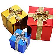 alegre caixa de papel de presente de Natal 30 * 30 * 30cm