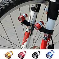 פנסי ראש / פנס קדמי לאופניים / אורות בטיחות Laser רכיבת אופניים מיקוד מתכוונן 18650 / סוללה כפתור Lumens סוללהמחנאות/צעידות/טיולי מערות /