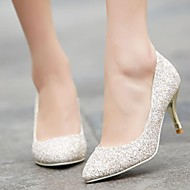 Women's Shoes Pointed Toe Stiletto Heel Glitter Pumps Shoes More Colors available