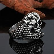 unisex osobnost vysoce kvalitní titanové oceli ring-pohltit