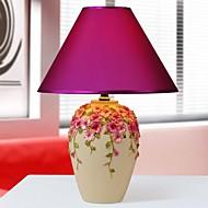 florero hoshine® flor del pensamiento de mesa lámpara de 1 resina estilo pastoral novedad luz