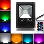 1pcs 10w led floodlight 1 high power led 800 lm rgb afstandsbediening ac 85-265 v