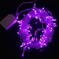z®zdm 10 m 9,6 wattů vánoční blesk 100 vedená fialové světlo lišta světlo lampy (EU zásuvka, ac 220v)