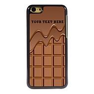 personalisierte Telefonkasten - Schokolade Design Metallkasten für iphone 5c