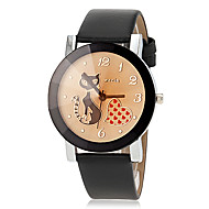 Women's Cat Pattern Quartz PU Band Analog Fashion Watch (Assorted Colors) Cool Watches Unique Watches