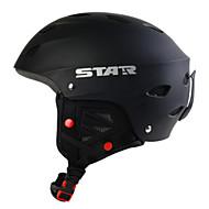 Style Star roi noir unisexe ABS noir ski / snowboard casque