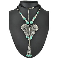 Women's Alloy Necklace Party/Daily Turquoise