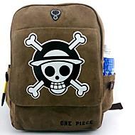 ett stycke apa · d · Luffy canvas cosplay ryggsäck väska