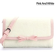 Matte Silk Casual/School Cross-Body bags/Shoulder Bags with Bowknot(More Colors)