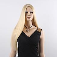 פאות נשים ארוכות ישר רך שיער סינתטיות