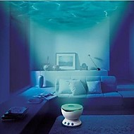 Led Night Light Projector Ocean Daren Waves Projector Projection Lamp With Speaker