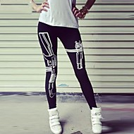 Women's Fashion Gun Pattern Sports Legging