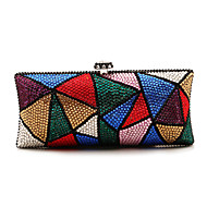 Handbags Luxury Rhinestones Special Occasion Evening Clutches Novelty With Chain