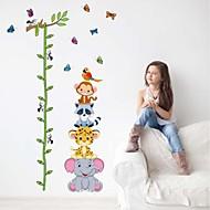מדבקות קיר מדבקות קיר, חיות מצוירות מדבקות קיר גובה PVC