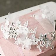 Women's Lace/Rhinestone/Tulle/Alloy Headpiece - Wedding Headbands