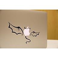 skinat abnehmbaren DIY lustige cuteblack kleinen Dämon Tablet und Laptop Aufkleber für Sie Tablett und MacBook Air 135 * 205mm