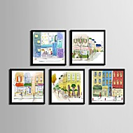 architecture framed canvas framed set wall artpvc black no mat with frame wall