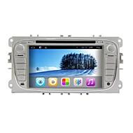 android da 7 pollici TFT 2 din lettore dvd nel cruscotto per Ford Mondeo con bt, navigazione GPS-ready, rds, ipod