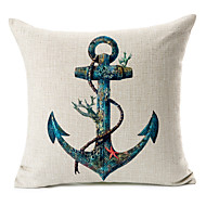 Cotton/Linen Pillow Cover , Nautical Modern/Contemporary