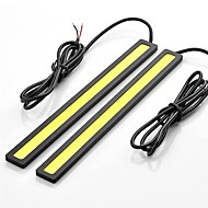 2pcs 17cm 6W 600-700LM Daytime Running light High Power COB DRL Waterproof IP68 Daylight(DC 12V)