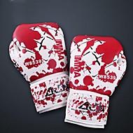 première cuir de sang plein les doigts des gants de boxe portable (taille moyenne)