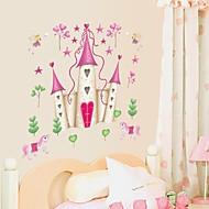 decalques de parede adesivos de parede, desenhos animados Disney Princess castelo pvc adesivos de parede