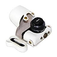 dengpin pu kožené pouzdro pro fotoaparát ochranné pouzdro taška kryt s ramenním popruhem pro Nikon 1 J4 / J3 s 10 - 30mm / 11 až 27,5 mm objektivu